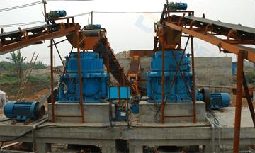 250tph granite crushing production line