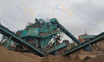 Russia 250-300tph serpentine sandstone production line