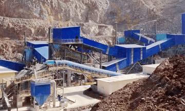 Myanmar 150tph limestone crushing production line