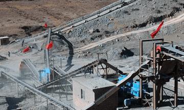 China 400tph iron ore crushing production line